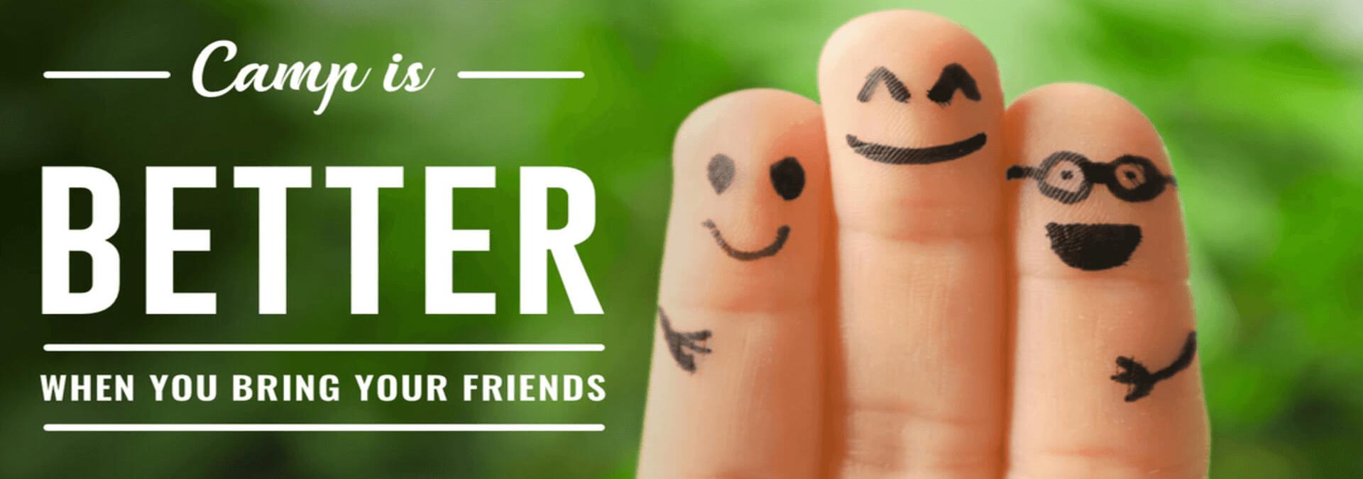 invite friend banner